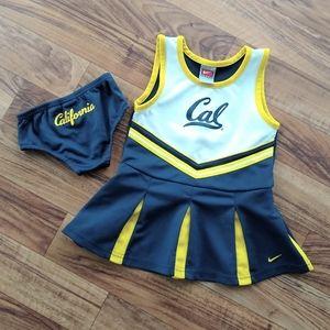 Nike California cheerleader outfit set 2 piece.